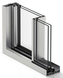 Aluminium system windows London