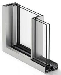 Aluminium system windows London